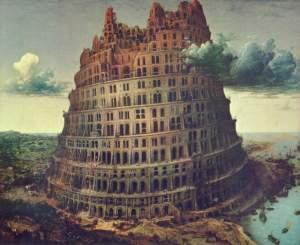 La construcción de la torre se interrumpe: la torre de Babilonya