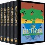 El célebre comentario a la Torah  del que toma su apodo Or HaJaím