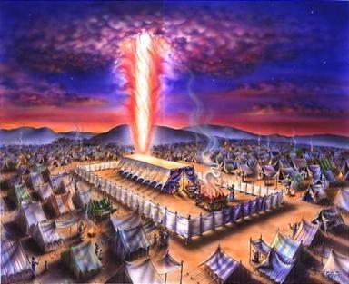 Ilustración: Ohel Moed, o el Mishkán