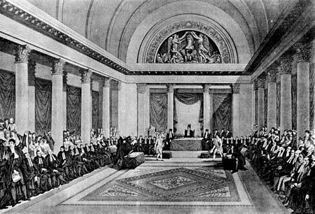 El Gran Sanhedrín, reunido el א'-כ'ט  באדר  (9/2-9/3 del año 1807)