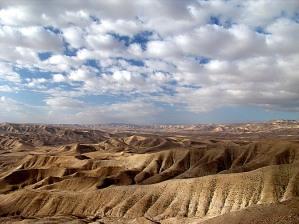 El Desierto de Yehudah. Sur de Israel