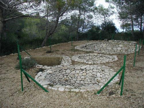 Asamím, Depositos de trigo desde la época israeli, 700-800 A.C. el Negev.